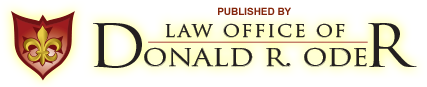 Law Office of Donald R. Oder